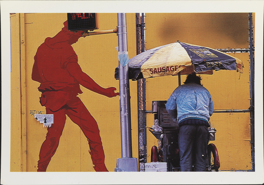 Genevieve Hafner, Concrete Jungle Images, Inc. (1961- ). Civic Center, 1991, 1991. Museum of the City of New York. 98.78.7