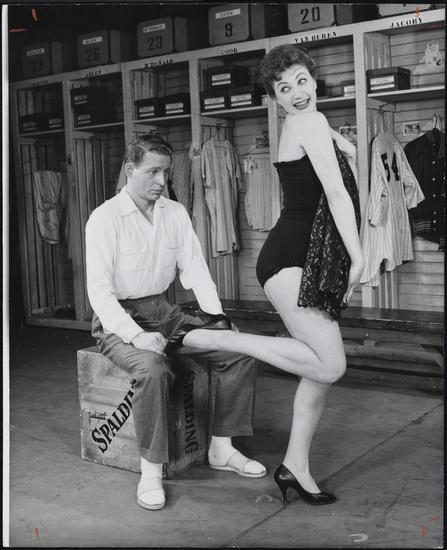 Friedman-Abeles (Firm). [Stephen Douglass and Gwen Verdon in Damn Yankees.] 1955. MCNY 68.80.7881. © The New York Public Library.