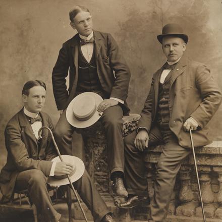 Benjamin A. Falk (1853-1925). Portrait, Harry Stevens & Sons, Hot Dog Man of Ballfields, ca. 1890. Museum of the City of New York. 93.1.1.9279