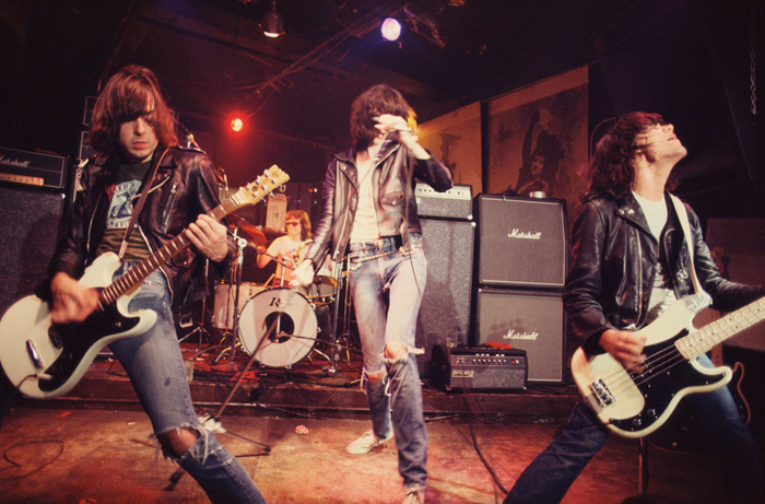Roberta Bayley, The Ramones Live at CBGB New York, 1976