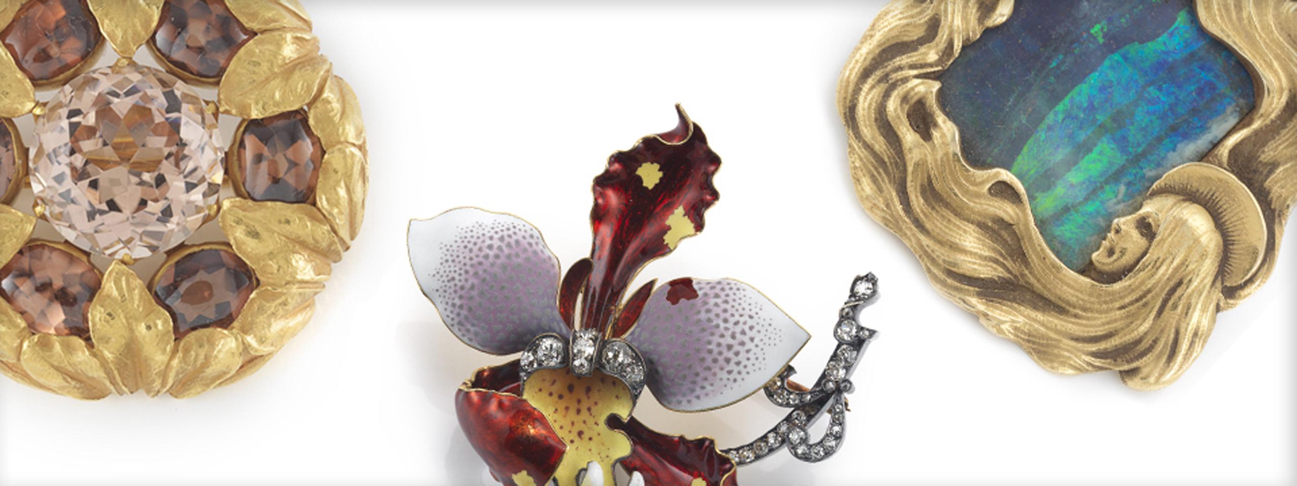 Gilded NY jewelry