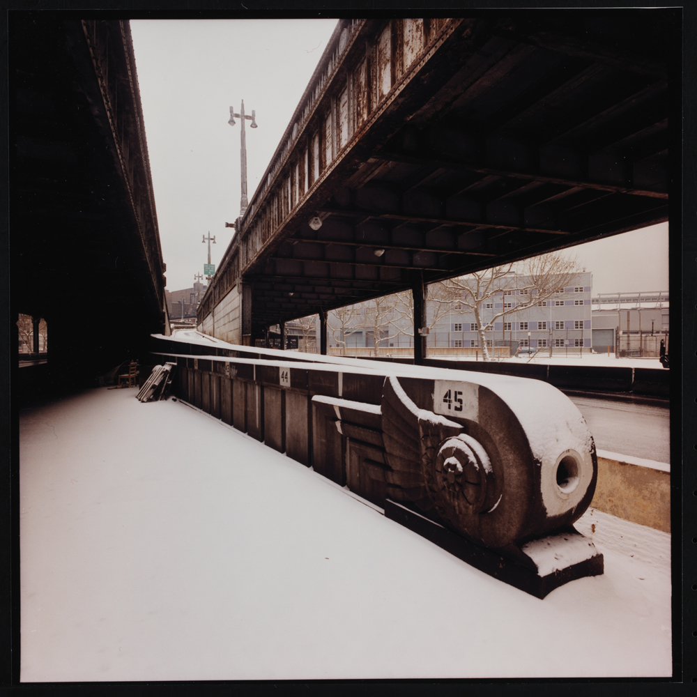 Jan Staller, West Side Highway Ramp at 23rd Street, 1978. Museum of the City of New York, 2015.5.27