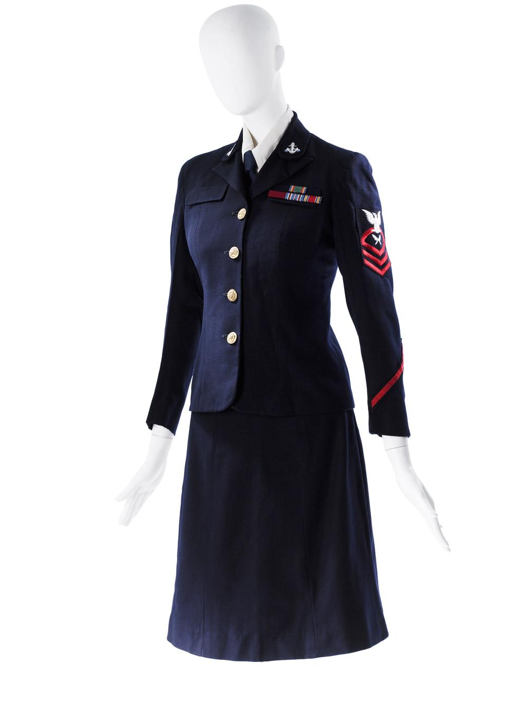 Mainbocher U.S. Navy WAVES uniform