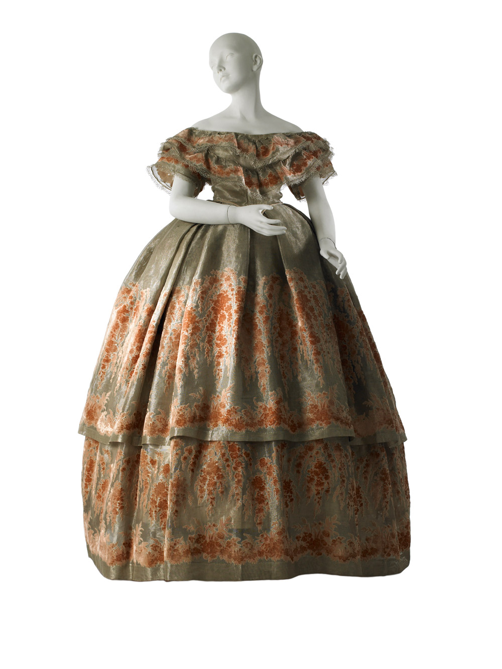 Ball Gown, 1860.