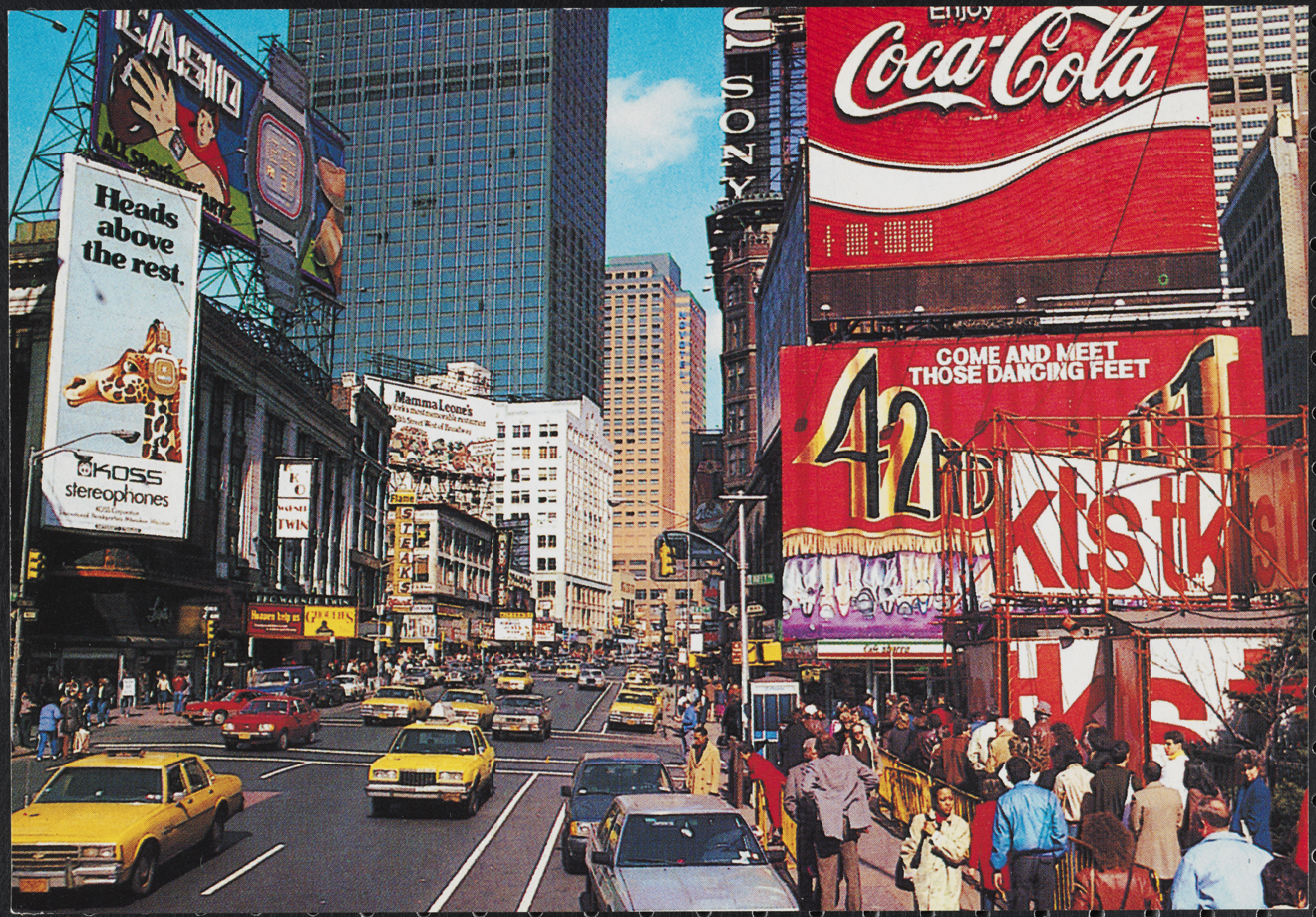 Alfred Mainzer (no dates). [Times Square], ca. 1980. Museum of the City of New York. F2011.33.149
