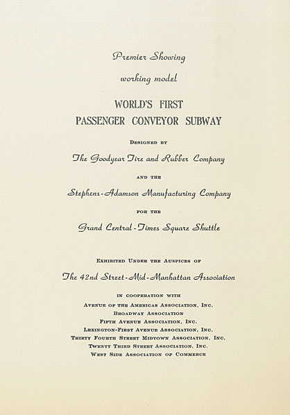 Written invitation to transportation event at Hotel Ambassador on April 21, 1953.