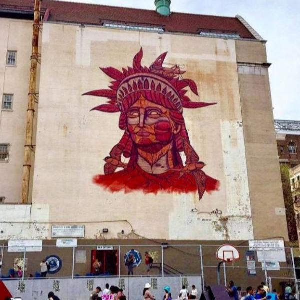 A colorful street art in East Harlem which has been home to the Museum of the City of New York since 1932. Find out what makes this neighborhood so special.