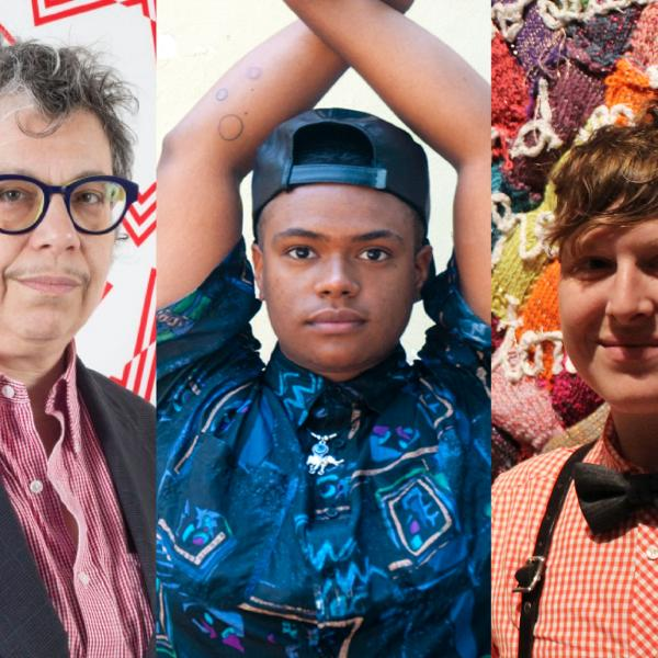 Left to right: Sheila Pepe - Photo by Rachel Stern; niv Acosta - Photo by Amos Mac; LJ Roberts