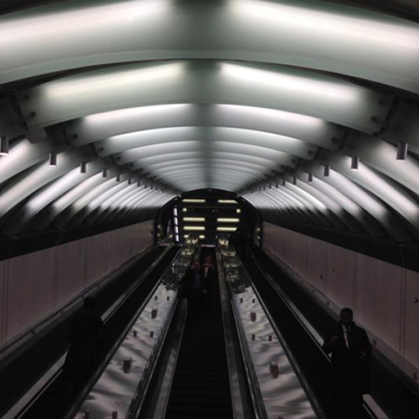 Entrance to Second Avenue Subway at 72nd Street, December 31st, 2016. Photo by the author for the Museum of the City of New York