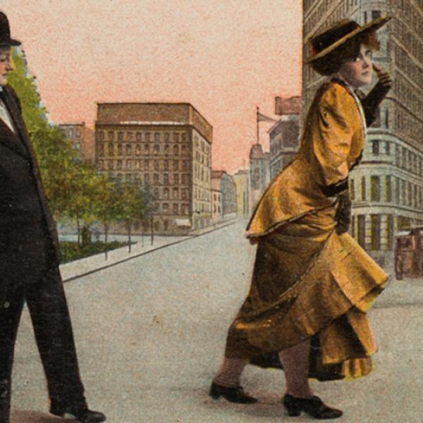 I am seeing great things, ca. 1910. Museum of the City of New York. X2011.34.106