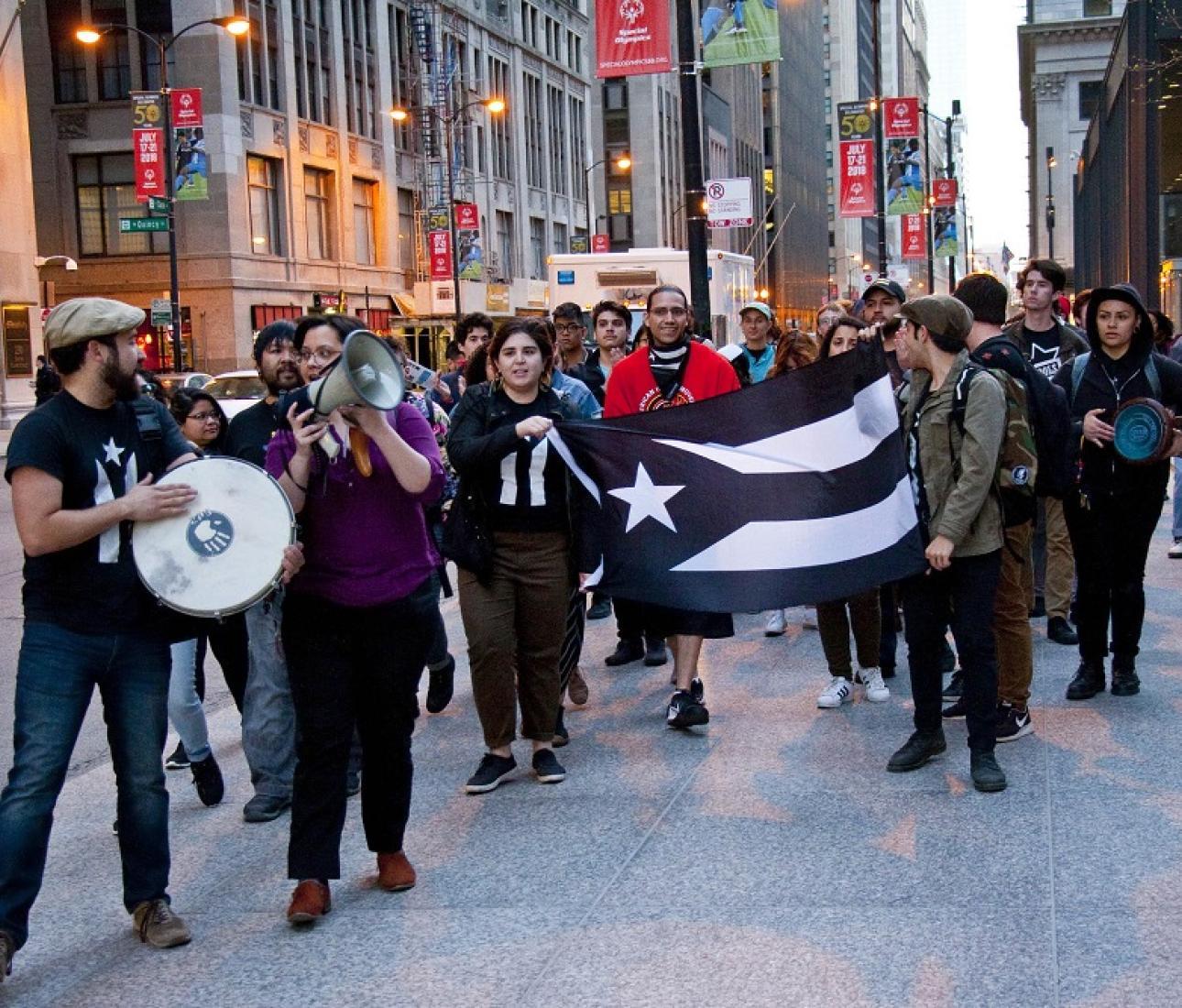 Ativismo porto-riquenho de Nova York a San Juan - e além