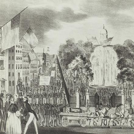 Joseph Fairfield Atwill (1811-1891). Croton Water Celebration 1842. 1842. Museum of the City of New York. 29.100.2036