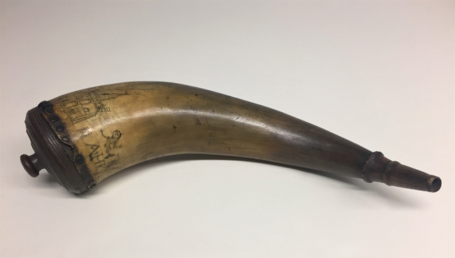 Powder Horn, ca. 1759. Museum of the City of New York. 35.403.3.