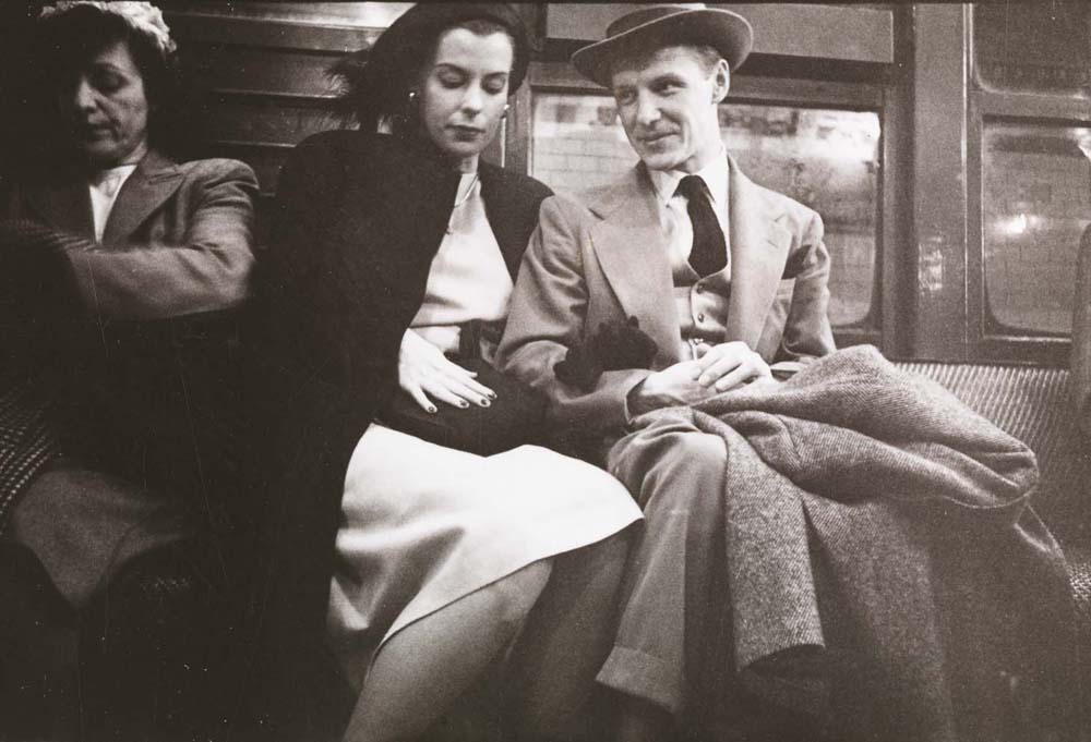 Stanley Kubrick. Life and Love on the New York City Subway. Passengers in a subway car. 1946. Museum of the City of New York. X2011.4.10292.26C