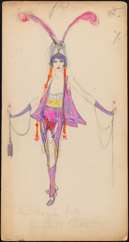 Sketch of Lady Duff-Gordon