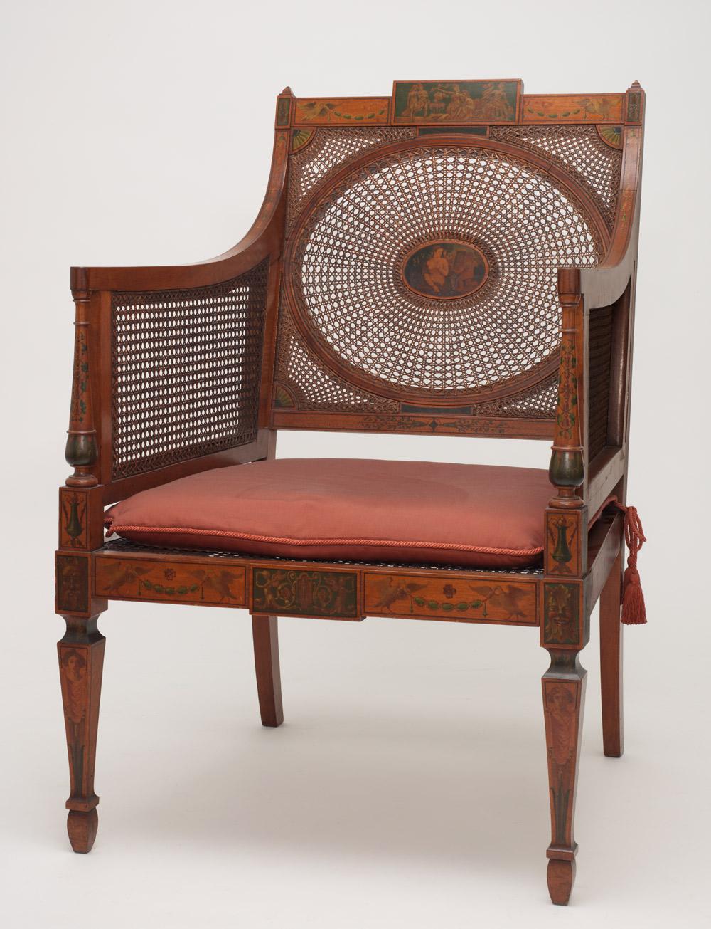Bryson Burroughs and Willard Parker Little Armchair