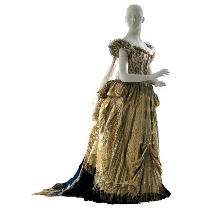 电光化装舞会服装,1883年