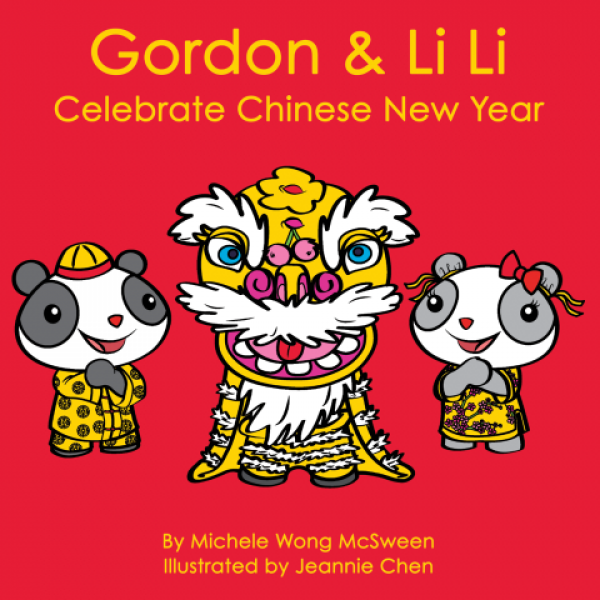 Book cover for Gordon & Li Li Celebrate Chinese New Year.