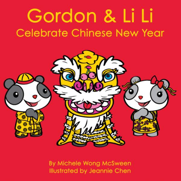 Couverture du livre de Gordon et Li Li Célébrer le nouvel an chinois.