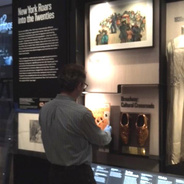 """Uma foto da """"Desinstalação na Galeria da Cidade do Mundo"""" do museu, tirada por Miranda Hambro em 2018."""