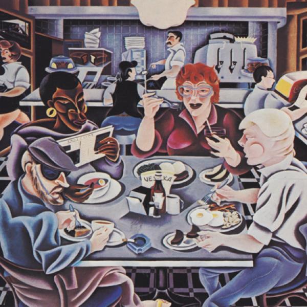 Arnie Charnick. Vida de almoço. 1997. Museu da cidade de Nova York. 97.188.23
