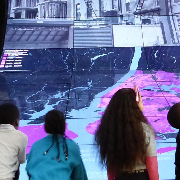 kids doing activities at the Museum of the City of New York