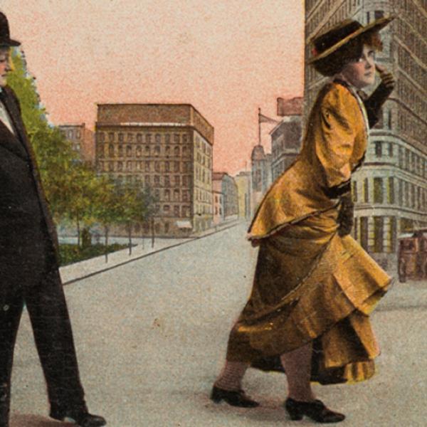 Estou vendo grandes coisas, ca. 1910. Museu da cidade de Nova York. X2011.34.106