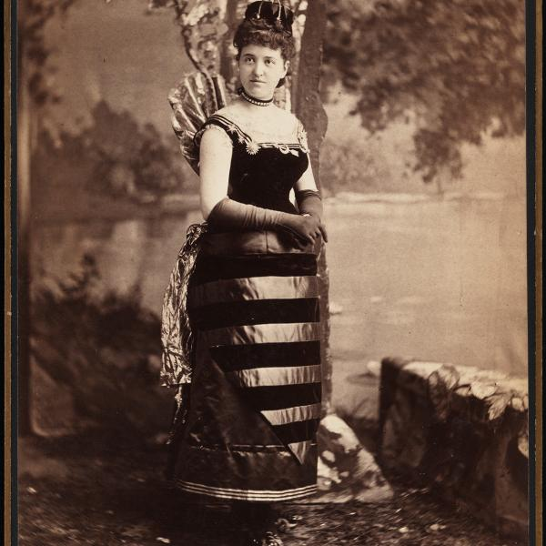 Mora (b. 1849). Mrs. William Seward Webb (neé Lila O. Vanderbilt).