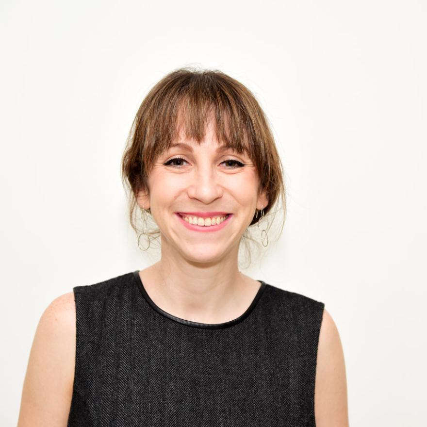 A portrait of Joanna Steinberg