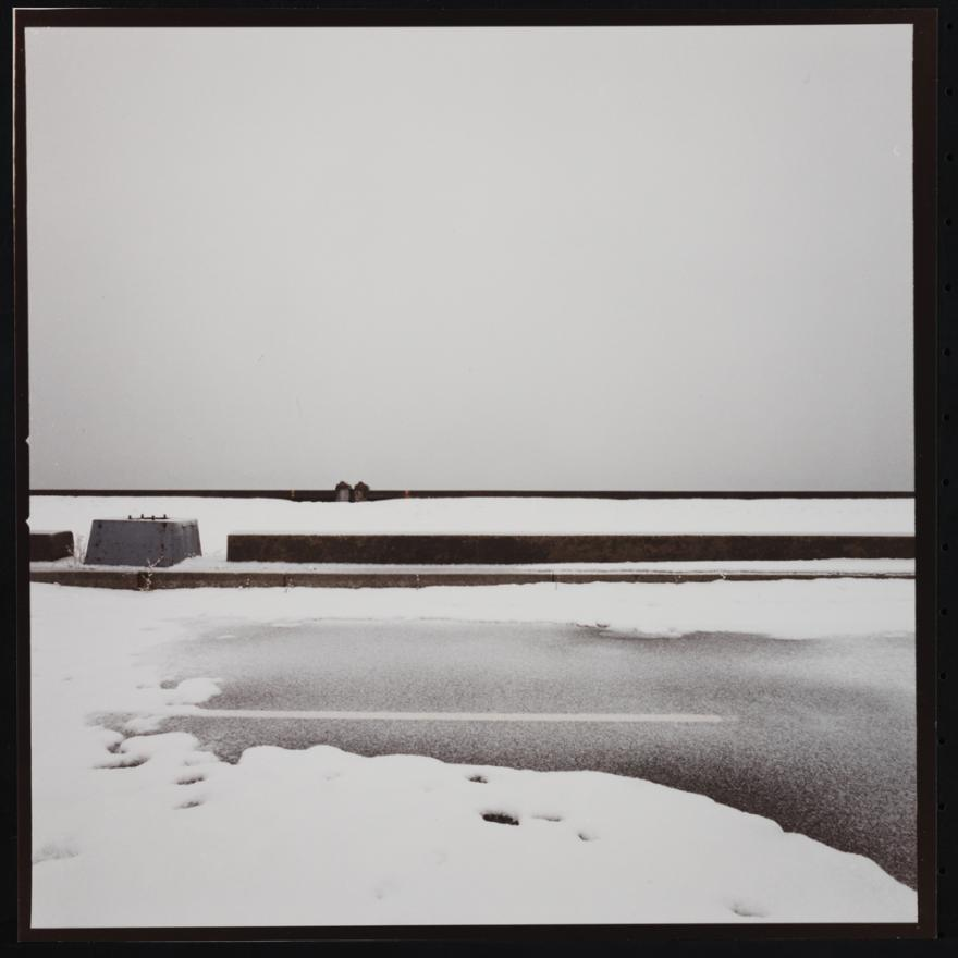 Jan Staller, West Side Highway Dusted with Snow, 1977. Museum of the City of New York, 2015.5.28